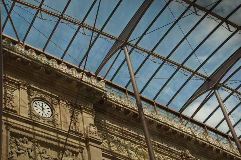 Alt trifft Neu: Der Bahnhof in Straßburg (Bild: privat)