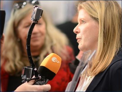 Interview mit dem ZDF auf der Erfindermesse iENA nach der Preisverleihung